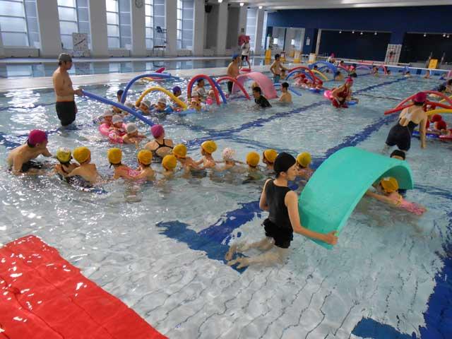ちびっこ水遊び教室